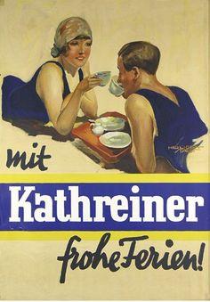 By Kurt Heiligenstaedt, 1 9 2 8,  Kathreiner (Kaffee).