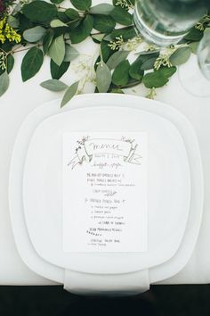 Homespun woodland wedding | Photo by Paige Jones | Read more -http://www.100layercake.com/blog/?p=79815
