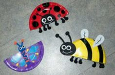 Bugs, Bugs Spring Bug Crafts for Kids and Preschool Bug Unit Lesson PlanSpring Bug Crafts for Kids and Preschool Bug Unit Lesson Plan Paper Plate Art, Paper Plate Crafts, Paper Plates, Clothespin Crafts, Insect Crafts, Bug Crafts, Tree Crafts, Projects For Kids, Crafts For Kids