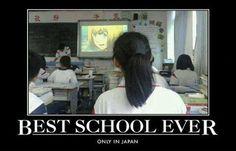Yo quiero ir a esa escuela