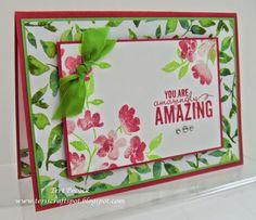 Stampin' Up! - Painted Petals  Teri Pocock - http://teriscraftspot.blogspot.co.uk/2015/01/painted-petals.html