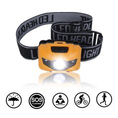 QMS Led Headlamp Flashlight with Red Lights, with Batteries Head Lamp, for Reading Outdoor Running Camping Backpacking Fishing Hunting Climbing Walking Jogging - Waterproof Work Light Headlamps *** This is an Amazon Affiliate link. Visit the image link more details.