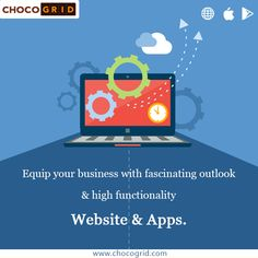 Equip your #business with fascinating #outlook & #high #functionality #website and #apps www.chocogrid.com #bestappbuilder #bestwebsitecreator #bestwebsitethemes