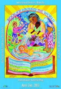 Celebrate International Children's Book Day, April 2    - Poster by Ahsley Bryan