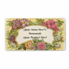 $$$ This is great for          Customized Vintage Floral Canning or Candle Label Personalized Shipping Label           Customized Vintage Floral Canning or Candle Label Personalized Shipping Label We have the best promotion for you and if you are interested in the related item or need more inf...Cleck Hot Deals >>> http://www.zazzle.com/customized_vintage_floral_canning_or_candle_label-106850682282417048?rf=238627982471231924&zbar=1&tc=terrest