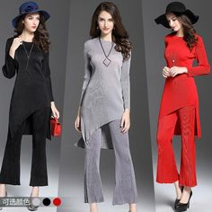 Swirl Design Pantsuit   #style #savage #couture #models #date #sexy #sweet #dress #social #Us