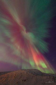 Auroras  Taken by Helge Mortensen on December 23, 2014 @ Finnvikdalen outside Tromsø