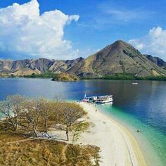 Kelor Island, Komodo national park, Flores, NTT province.  Kelor island is small island with white sandy beach, magnificent sea garden and colorful trophical fishes.  It's only 1.5 hours away from labuan bajo port