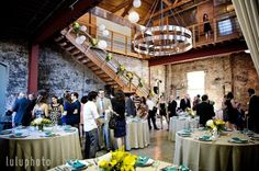 Industrial style wedding location in CA - Huron Substation