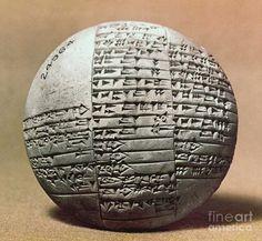 Sumerian Cuneiform & Gilgamesh, 7th Century B.C. http://www.pinterest.com/pin/273453008599064776/