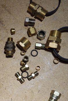 DIY Plumbing Supplies Bracelets  http://stylehurricane.blogspot.com