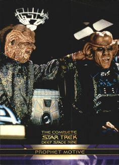 2003 Complete Star Trek Deep Space Nine 68 Prophet Motive   eBay