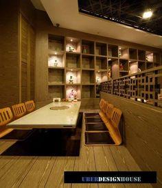 korean restaurant interior design - Tìm với Google