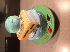 Golf, Travel, Beer birthday cake, by Amy Hart