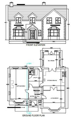 Free dwg house plans autocad house plans free download - House plan drawing apps ...