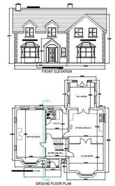 House Plans, No.5 - Clonlea. Blueprint Home Plans. House Plans ...