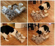 katzenspielzeug selber machen upcycling ideen