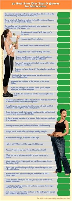 30 Best Diet Tips and Diet Quotes for Motivation weight loss health fat loss health tips health infographics tips on being healthy infographic on health weight loss tips #weightlossinfographics