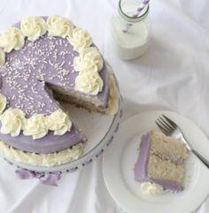 Purple Vanilla Birthday Cake-3