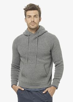 Wool Crossover Neck Hoodie - Vince Can't ever have enough Vince!