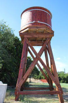 TimberTanks and TinyTimbers – Water Storage Tanks, Inc. Rain Barrel Stand, Rainwater Cistern, Tank Stand, Water Storage Tanks, Country Barns, Water Collection, Modern Farmhouse Exterior, Water Tower, Westerns