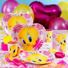 Party City Tweety Bird Decorations