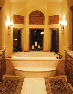 Gorgeous bay window tub