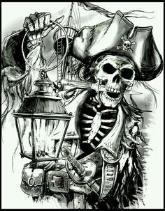 Skeleton ~Pirate † ~