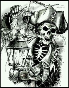 Skeleton ~Pirate † ~