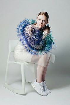 If Björk Went To The Kentucky Derby, She'd Wear This #refinery29 http://www.refinery29.com/maiko-takeda#slide15