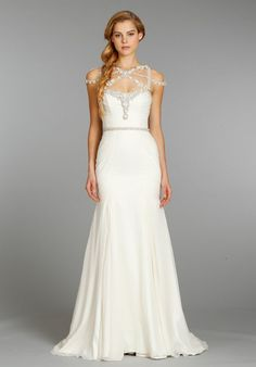 Hayley Paige Wedding Dresses- so different than the traditional gown! I want to try every single one on..