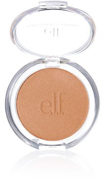 ELF bronzing powder in Sun Kissed. It's really hard to find a bronzer that isn't too dark, too matte, or too shimmery. The $1 price tag is just icing.