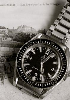 """omegaforums: """"Stunning Vintage Omega Seamaster 300 Diver On 1171 Bracelet Circa 1960s """""""