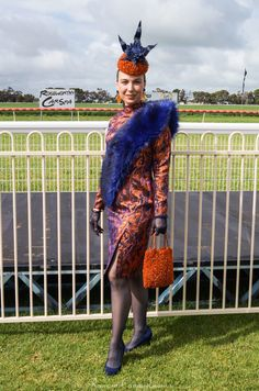Damp conditions didn't keep the crowds away as The Balaklava Cup kicked off the SA spring racing season and fashion at the races competition. RacewearCarousel.com.au