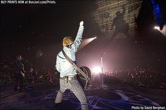 Photo © 2013 David Bergman / www.BonJovi.com/prints -- Bon Jovi performs at the Verizon Center in Little Rock, AR on October 18, 2013.