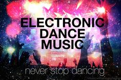Electro/Dance Music Poster