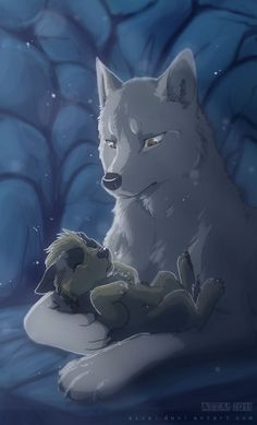 Trendy How To Draw Anime Wolf Animation Fantasy Wolf, Fantasy Art, Fantasy Creatures, Mythical Creatures, Anime Animals, Cute Animals, Wolf Movie, Desenhos Gravity Falls, Wolf Pictures