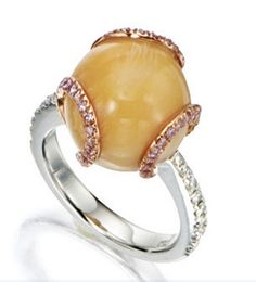 Melo Pearl Ring  Sotheby's