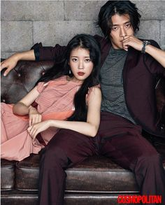 "IU and Kang Ha Neul - so beautiful - Cosmopolitan Korea Magazine featuring the ""Scarlet Heart: Ryeo"" Cast Moon Lovers Scarlet Heart Ryeo, Scarlet Heart Ryeo Cast, Jung So Min, Lee Joon, Joon Gi, Couple Posing, Couple Shoot, Asian Actors, Korean Actors"