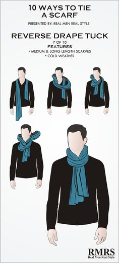 """""""Scarves are a woman's accessory"""" At least - that's what people will try and claim. Wrong. 100 years ago when open cockpits were standard... pilots wore a silk scarf around their neck to keep warm and prevent chafing. For thousands of years, militari http://bellanblue.com"""