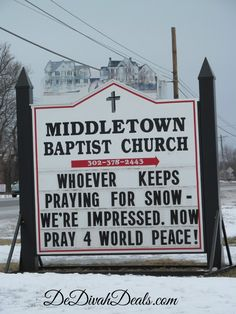 Church Sign  @Mary McGinty Graham Baptist Church #churchsign #middletownbaptist #pray4peace #dedivahdeals