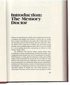 The Memory Doctor: Elizabeth Loftus
