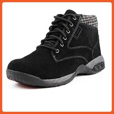 Therafit Shoe Women's Dakota Suede Ankle Boot 8 Black - Boots for women  (*Amazon