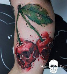 Skullcherry, Cherries with Skulls | Best tattoo ideas & designs