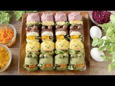 動物ちぎりパンサンド   お菓子・パンのレシピや作り方【corecle*コレクル】