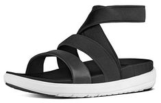 #FitFlop Fitness Schuhe Sandalen - Loosh Gladiator, schwarz. Clogs, Fitflop, Mary Janes, Wedges, Sandals, Sneakers, Fashion, Comfortable Sandals, Shoes Sandals