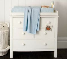 **TOP CHOICE SO FAR** Kendall Dresser & Changing Table Topper | Pottery Barn Kids $549
