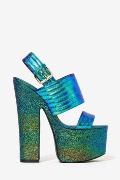 Privileged Paranoid Iridescent Platforms