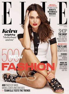 ☆ Keira Knightley | Photography by Mariano Vivanco | For Elle Magazine UK | March 2015 ☆ #Keira_Knightley #Mariano_Vivanco #Elle #2015
