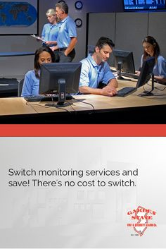 Switch monitoring services and save! There's no cost to switch. Learn more about our central station and start saving.
